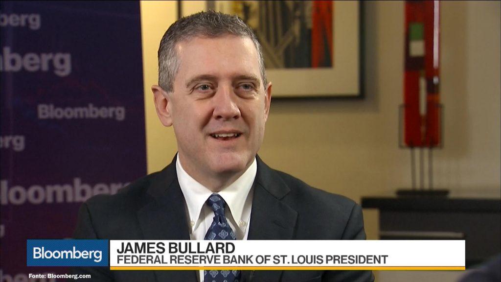 James Bullard. Membro do Fed.
